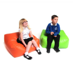 Primary Square Bean Bag